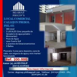 LOCAL COMERCIAL CALLEJON PREBOL  PHL-021
