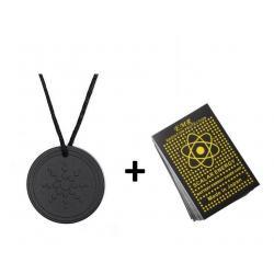 Dije De Energia Escalar Cuantica + Sticker Anti Radiación