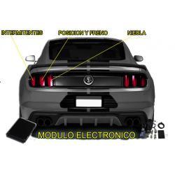 Ford Mustang 2005-2020 Intermitencias amarillas