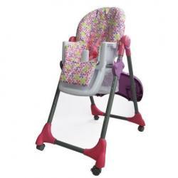 Silla Alta Comedor Para Bebé Reclinable Multi Posiciones