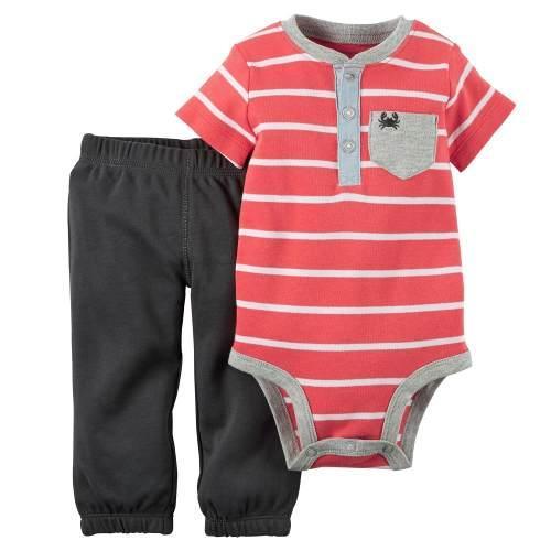 ac26ede2ca6 Set De Body Y Pantalón Para Bebe Niño Ropa Carter Original en Bogotá ...