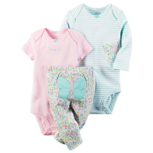 dce6a347ebc Set Bodys Y Pantalón Para Bebe Niña Ropa Carter Original en Bogotá ...