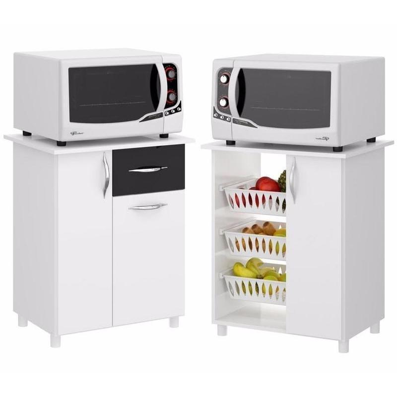Armario Multiuso De Cocina - Alacena -mueble Para Microondas en ...