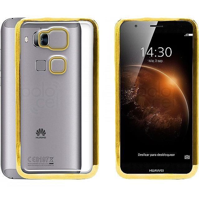 8ae51103084 Funda Tpu Huawei Gw Metal P Smart Mate 10 Lite + V. Templado en ...