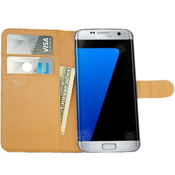 d405e10b23e Estuche Cuero Premium Samsung S8 G950 Funda Tarjetero Stand en Villa ...