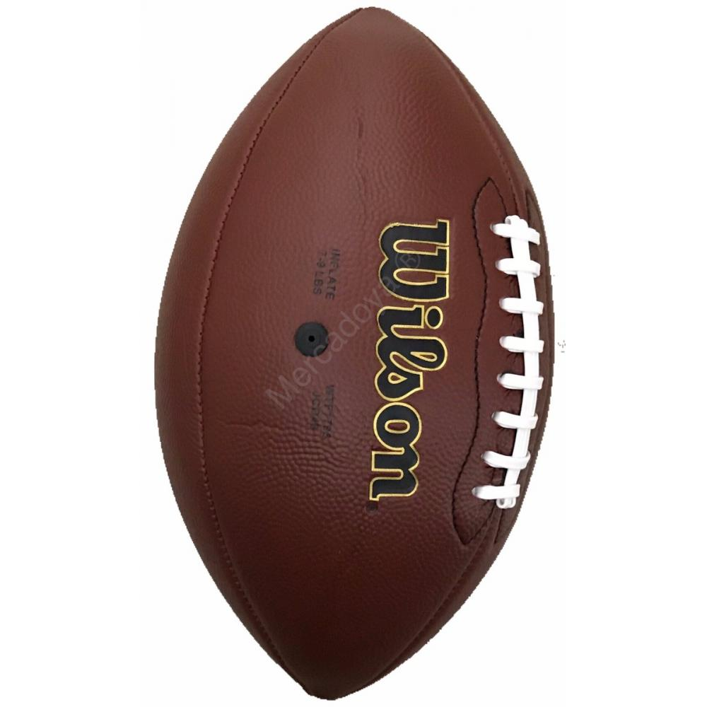 e3b1750eabb4e Balon Futbol Americano Spalding Pro En Cuero Oficial Nfl Y + en ...