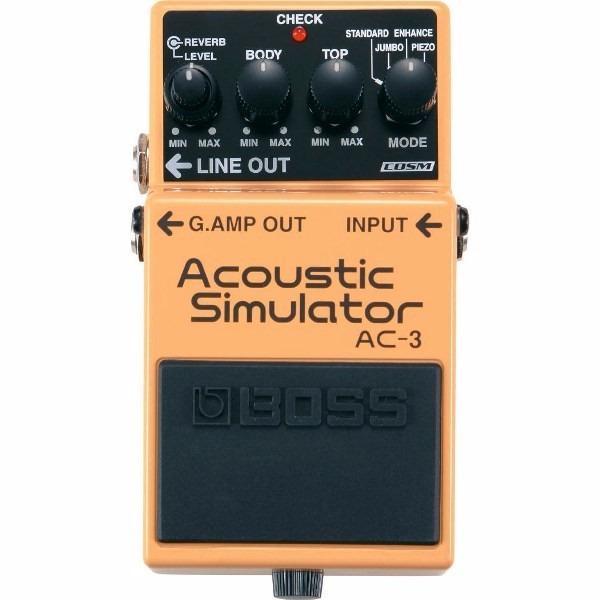 Si buscas Pedal Análogo Boss Acoustic Simulator Ac 3 puedes comprarlo con GUITAROUTLET está en venta al mejor precio