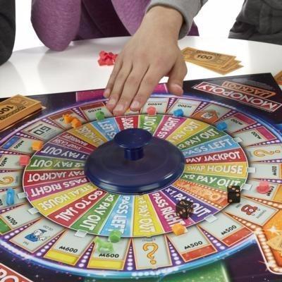 Monopoly Casino Ruleta Espanol Hasbro Juego Mesa B7368 En Bogota