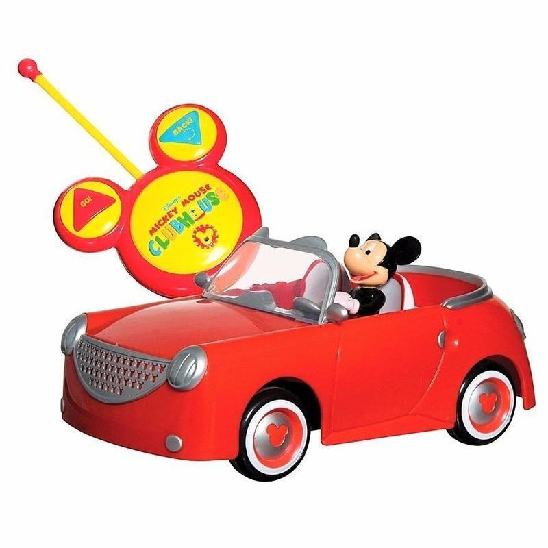 Carro Mickey Juguete Control Remoto Vehiculo Original 180062 En