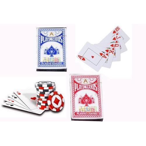 Kit Cartas Casino Juego De Mesa Azar Poker 2 Pintas 555 En Bogota