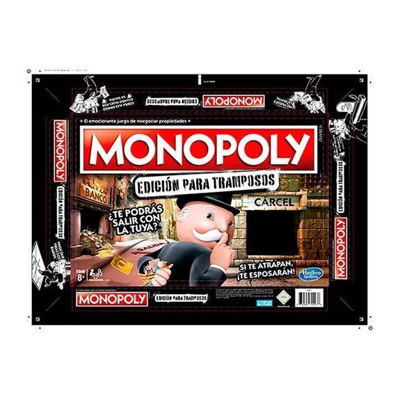 Monopoly Edicion Para Tramposos Hasbro Ref E1871 Carcel En Bogota