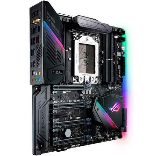 Si buscas Asus Rog Zenith Extreme X399 Ddr4 Amd Socket Tr4 Rgb M.2 puedes comprarlo con GRUPODECME está en venta al mejor precio