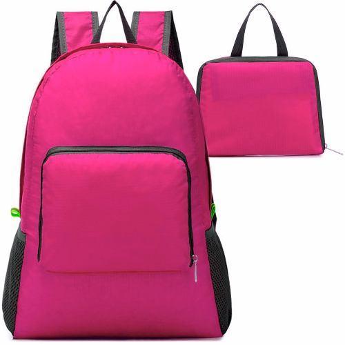 Si buscas Mochila Plegable Impermeable De Viaje Rosa M2980 puedes comprarlo con GARUMI está en venta al mejor precio