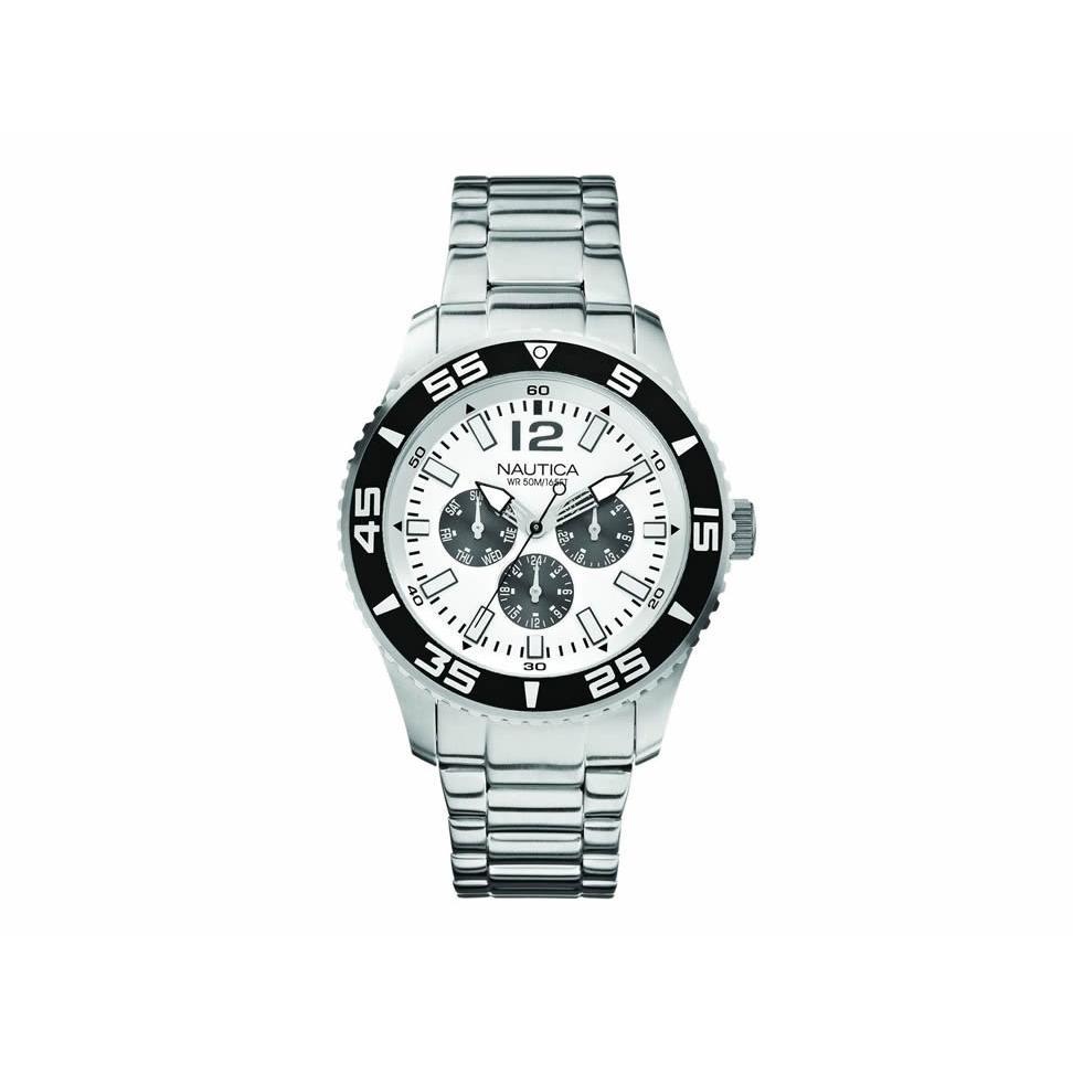 25d08496e88e Reloj Nautica Cronografo A15657g Acero Envio Gratis en Huichapan ...