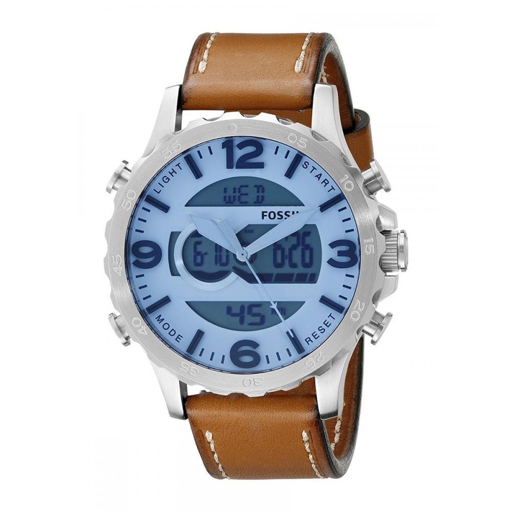 9017ed76fa8f Reloj Fossil Nate Jr1492 Cuero Envio Gratis en Huichapan