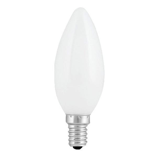Si buscas Foco Decorativo Led 1w Tipo Vela Color Blanco Base E12 Aksi puedes comprarlo con COMODIDADES está en venta al mejor precio