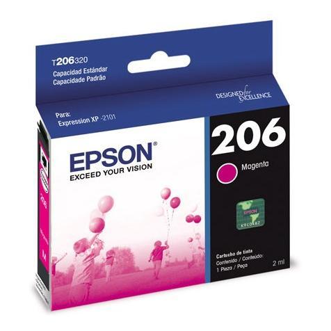 Si buscas Cartucho Epson 206 Magenta Xp 2101 150 Copias Nnet puedes comprarlo con NNET INFORMATICA está en venta al mejor precio