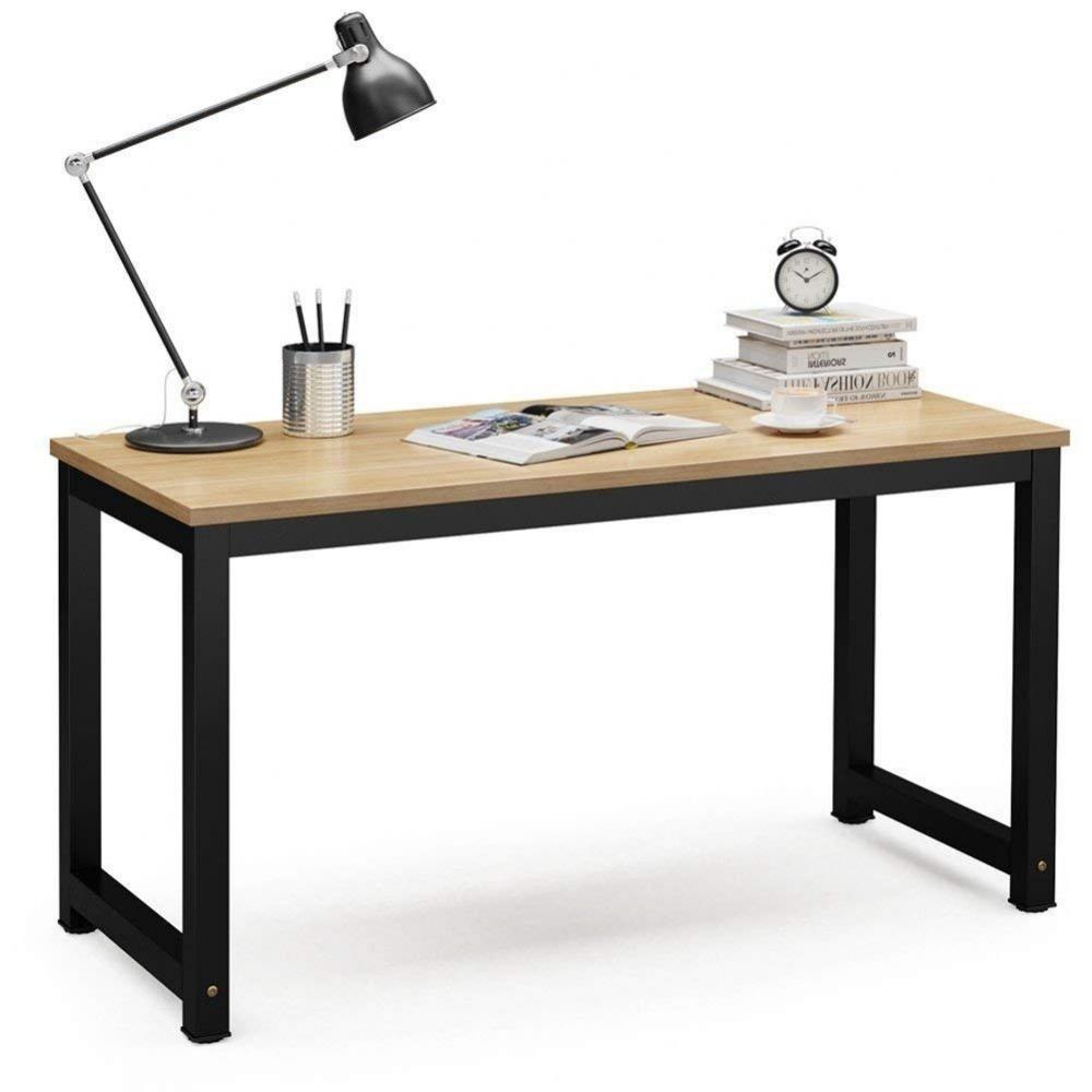 Escritorio Madera Y Hierro 120x60 Mesa De Oficina Premium en ...