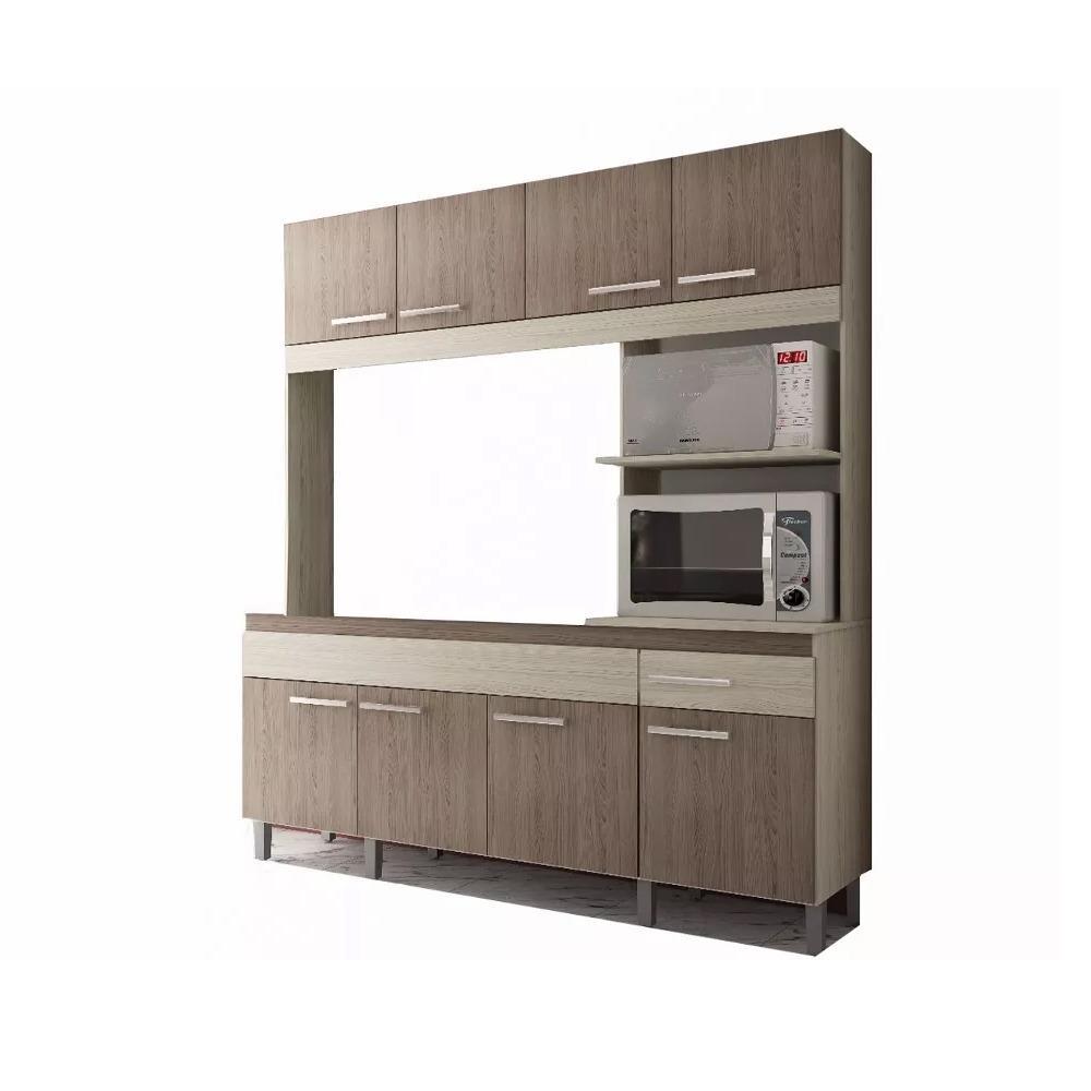 Muebles Cocina Compacta Aereo Bajo Mesada Alacena Kit en Centro ...
