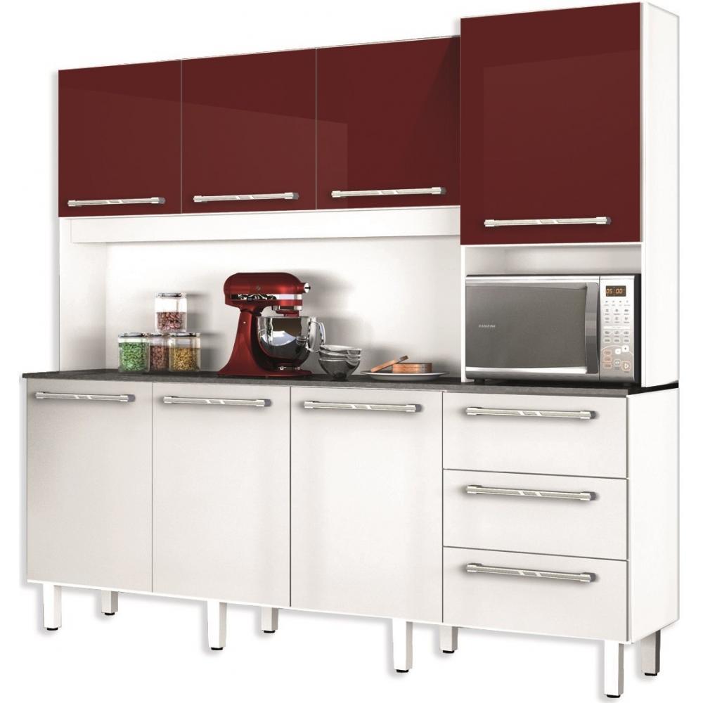 Alacena - Armario - Aparador - Mueble De Cocina 207 Cm Largo en ...