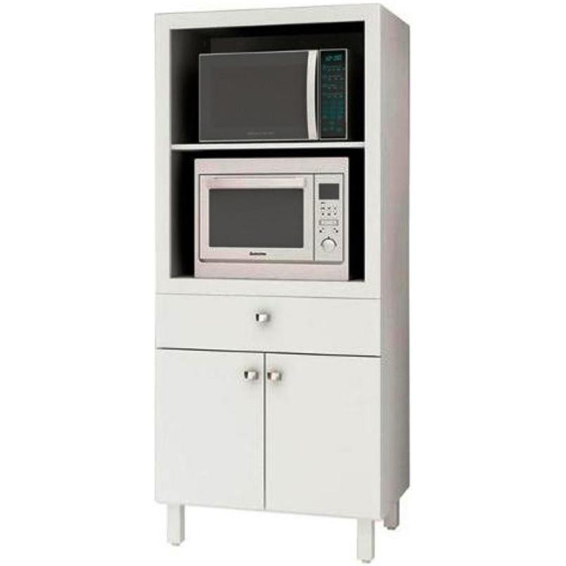Mueble Multiuso Cocina Para Microondas Horno Cajón Y Puertas in ...
