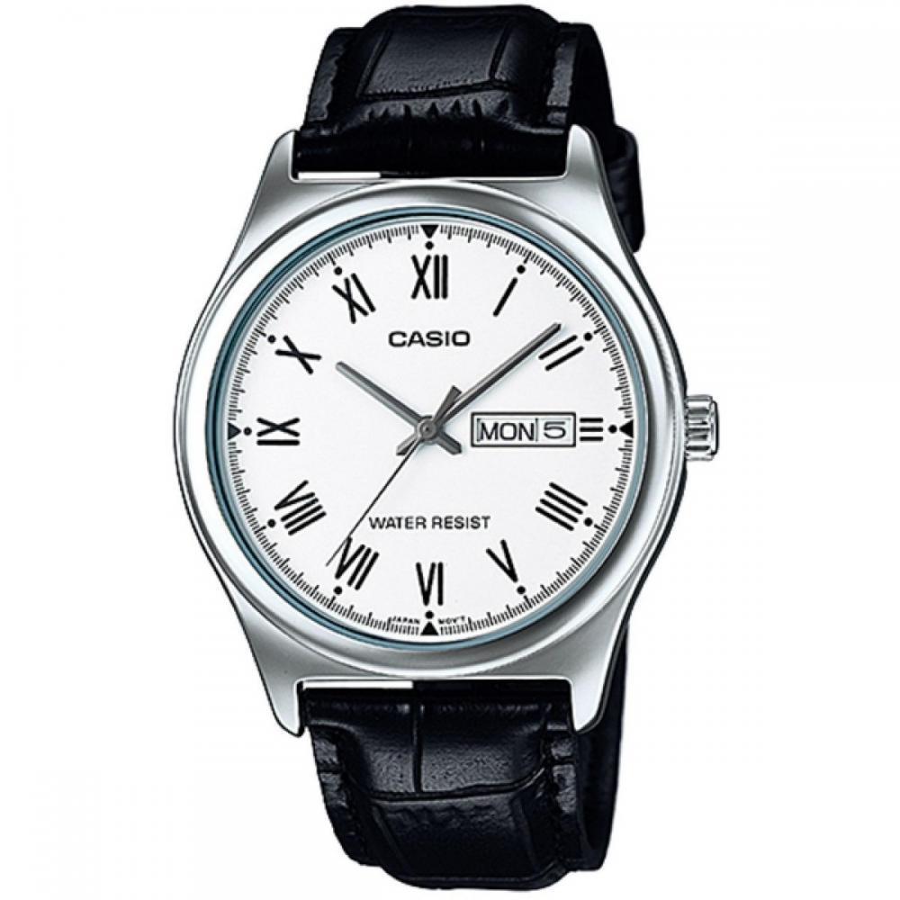 dbb79e0e9bfd Reloj Casio Mtp-v006l Hombre Doble Calendario 100% Original en ...