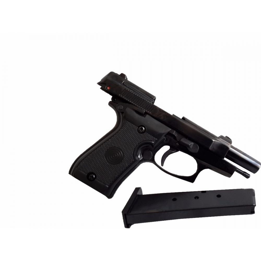 Pistola Fogueo Traumatica Beretta 85 Ekol Balas Goma Abierto
