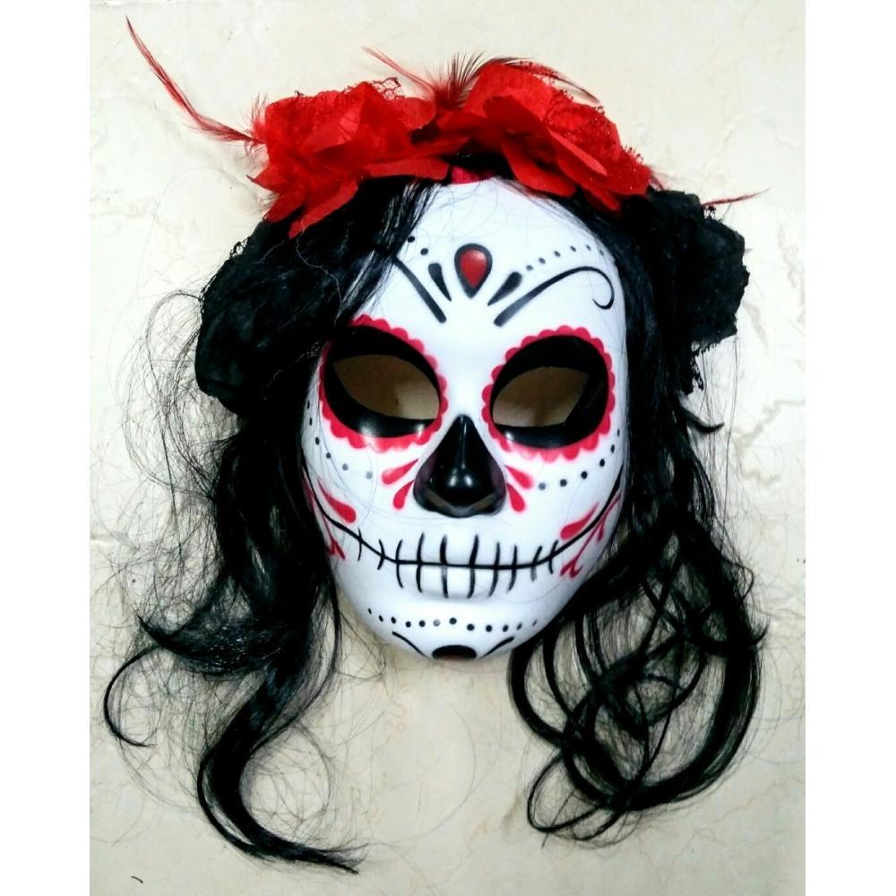 Mascara Catrina Disfraz Katrina Halloween Frida Mexicana In Medellin Colombia By Gloriayanethmorenouribe Anuncio Ya Id 759870