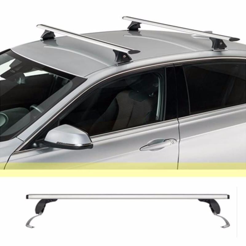 Barras Portaequipaje Aluminio Universal Autos Camionetas en ... e7a9a0bf0049