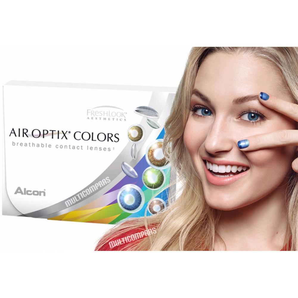 22c02f96f0 Pupilentes Air Optix Colors Freshlook Mensual Brasileño en ...
