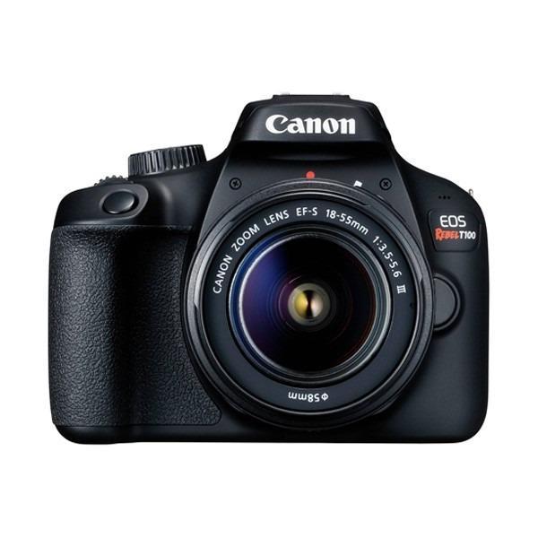 Si buscas Cámara Canon Eos Rebel T100 Con Lente Ef-s 18-55mm Iii puedes comprarlo con PROFOTOMX está en venta al mejor precio