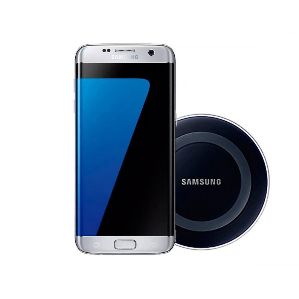 b36e467b0e23a Celular Samsung Galaxy S7 Edge Plata 32gb + Cargadorwireless en ...