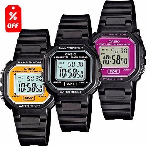 f955a4112a17 Reloj Dama Casio La20 - Diseño Clásico- Varios Colores- Cfmx en ...