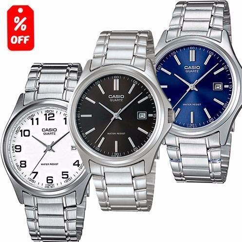 bd47fd5db108 Reloj Casio Mtp1183 Estilo Clásico Extensible Metal - Cfmx en ...
