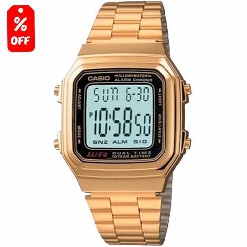 ca73f7a8deef Reloj Casio Retro Vintage A178 Dorado - 100% Original Cfmx en ...
