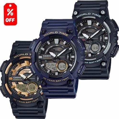 3c35b9d791a5 Reloj Casio Aeq110 - Memorias - 100m - Cfmx en Gustavo A. Madero ...