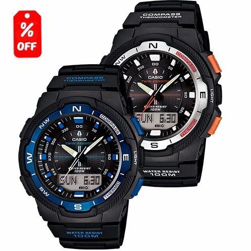37f9f84fe693 Reloj Casio Outgear Sgw500 Brújula Y Termómetro - Cfmx en Gustavo A ...