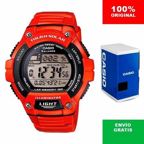 556df9920835 Reloj Casio Ws220 Rojo - 120 Memorias - Solar - Cfmx en Gustavo A ...