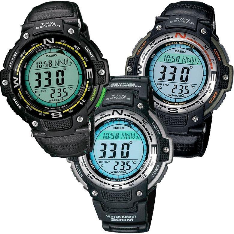 a8e87d2fe Reloj Casio Outgear Sgw100 - Lona - Termómetro Y Brújula - - en ...