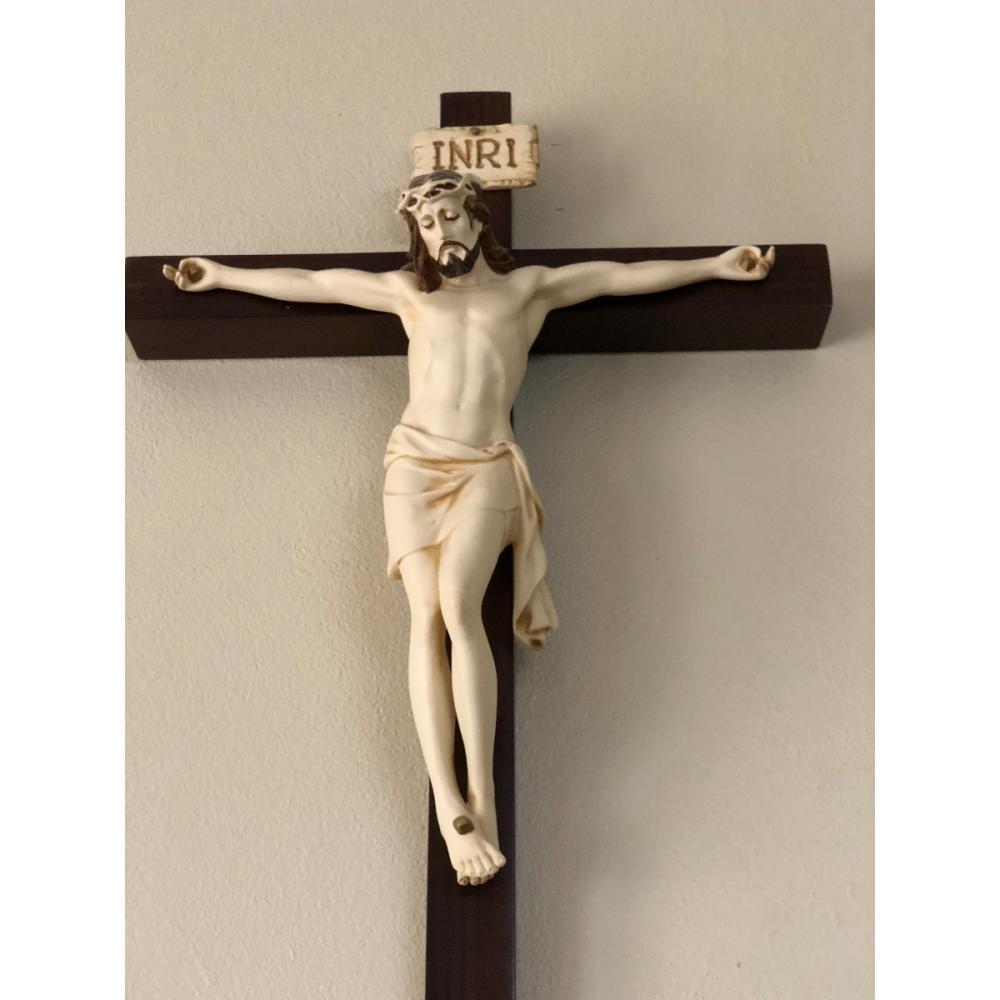 1c8645a6a72 Cristo Cruz En Madera Hermoso Comprado En Liverpool en Chalco ...