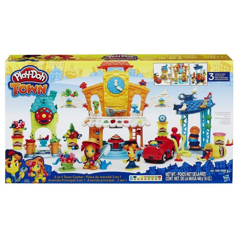 If you are looking NEW HASBRO PLAY-DOH TOWN 3-IN-1 TOWN CENTER B5868 PLAYDOH CENTRE you can buy to nicolestoysgifts, It is on sale at the best price
