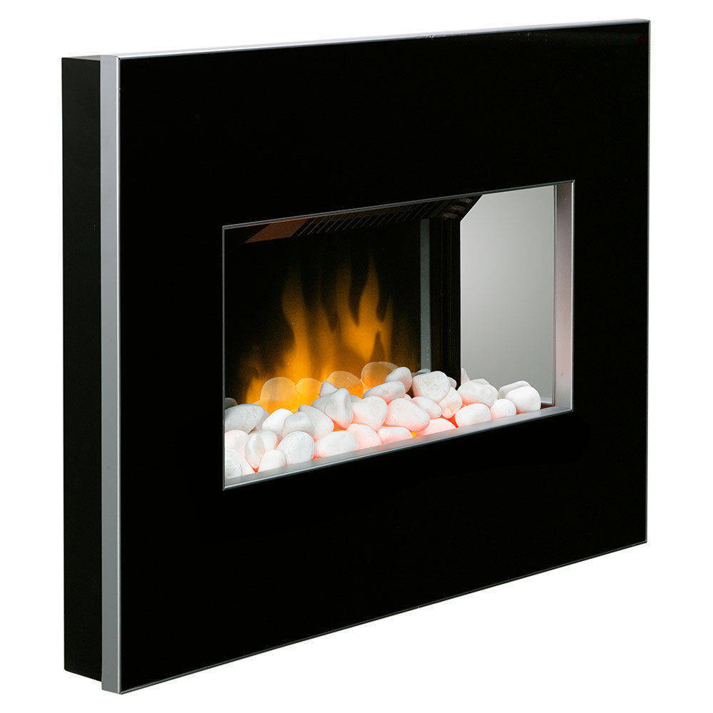 If you are looking Dimplex Clova Black Electric Fireplace Panel Heater/Flame Optiflame Pebble Stone you can buy to KG Electronic, It is on sale at the best price