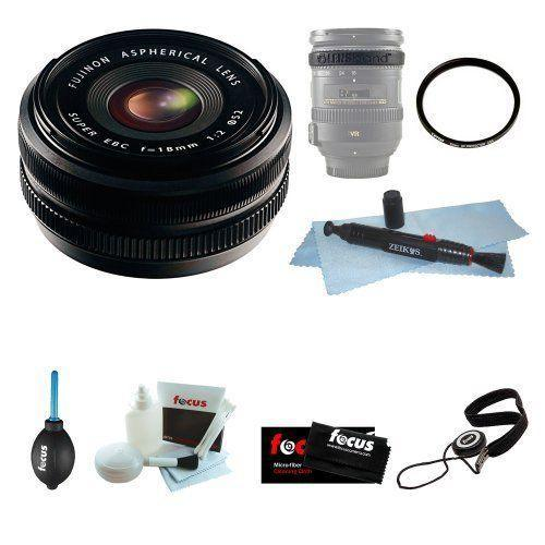 If you are looking Fujifilm FUJINON XF 18mm F2.0 Lens with Lens Band + 52mm Filter + Accessories you can buy to focuscamera, It is on sale at the best price