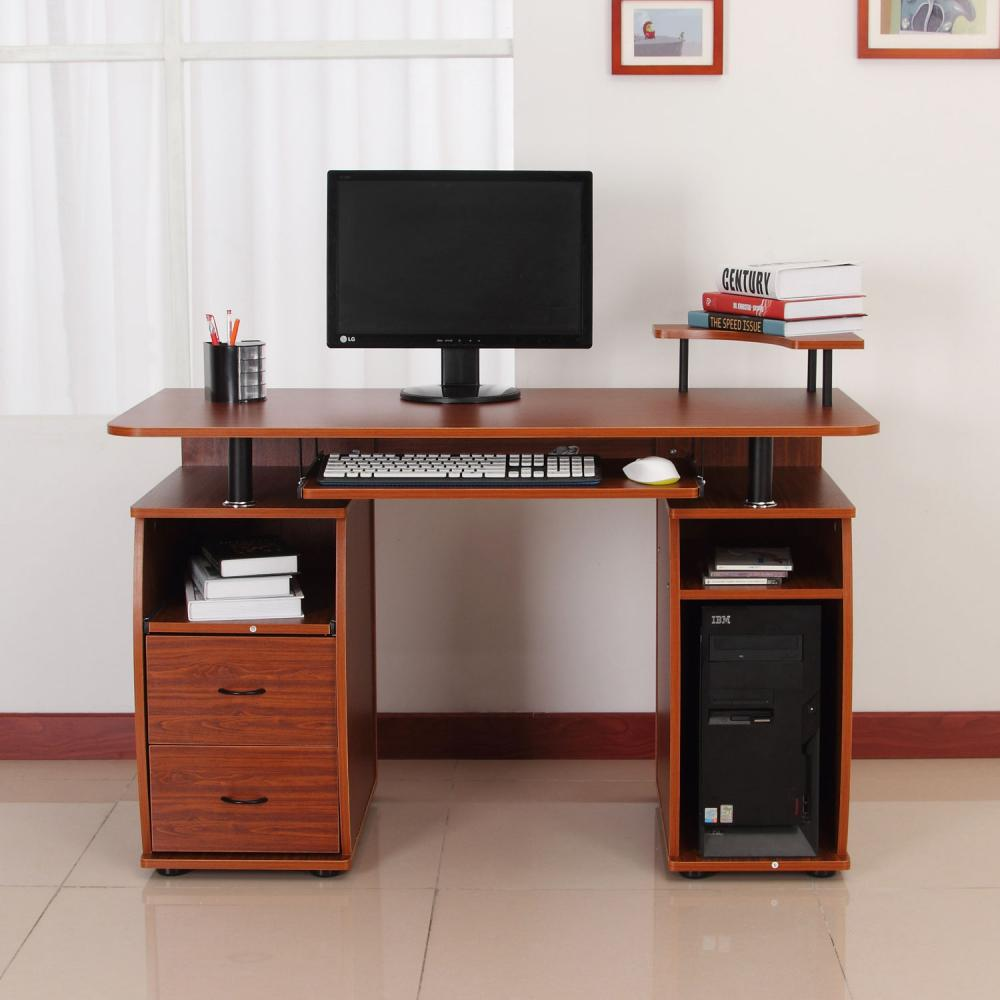 If You Are Looking Computer PC Desk Table Work Station W/Printer Shelf Home  Office