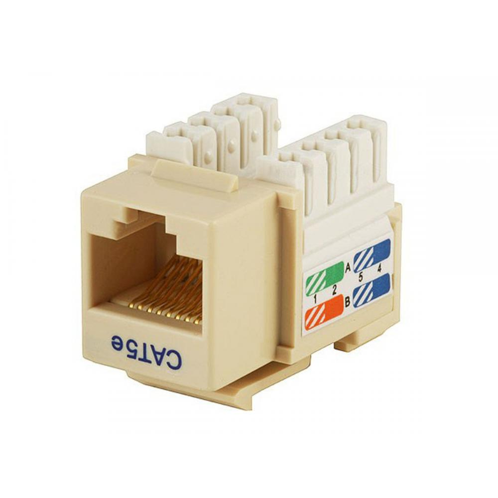 If you are looking Monoprice 5373 Cat5E Punch Down Keystone Jack - Beige you can buy to monoprice, It is on sale at the best price