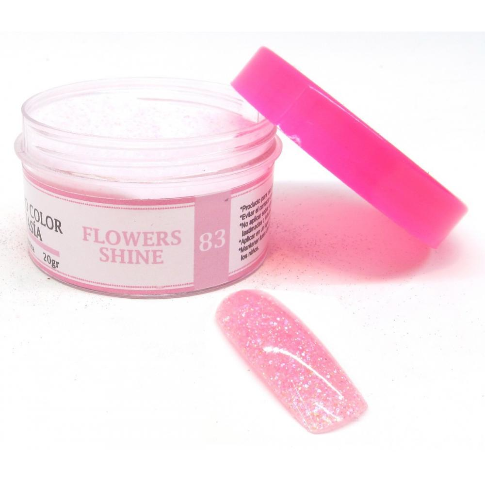 Polimero Color Fantasia Construccion Flowers Shine Lefemme en Flores ...