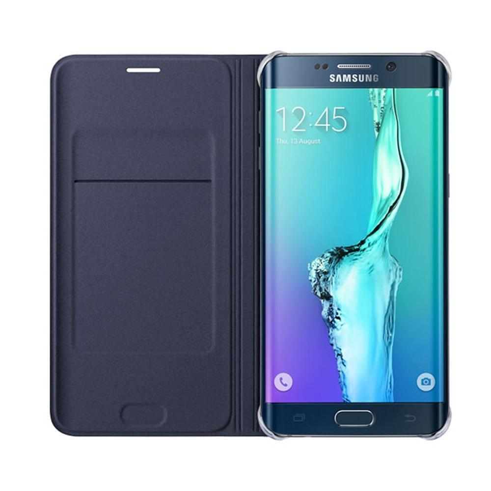 23273dea8c8 Funda Galaxy S6 Edge Plus Samsung Flip Wallet Original Negra in ...