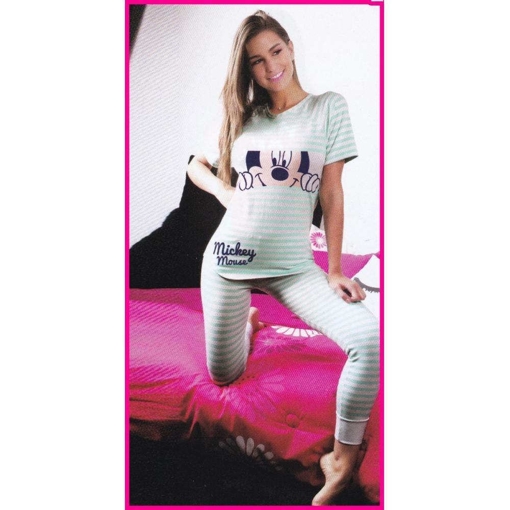 e14603766 Pijama Para Dama Mickey Mouse Disney Legging Blusa Mediana en ...