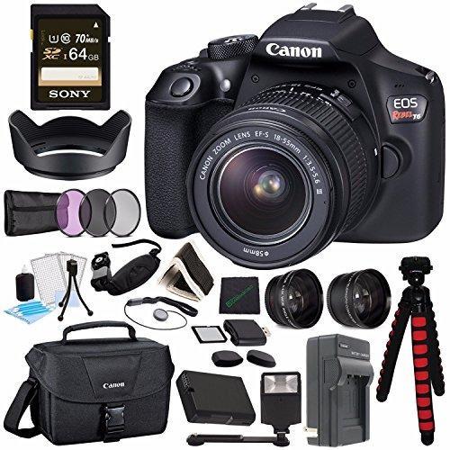 Si buscas Canon Eos Rebel T6 Dslr Camera With 18-55mm Lens + Sony 64gb puedes comprarlo con IN EXCELSIS NET está en venta al mejor precio