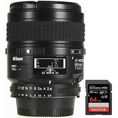 Si buscas Nikon 60mm F/2.8d Micro Af Nikkor Lens (1987) With Sandisk E puedes comprarlo con IN EXCELSIS NET está en venta al mejor precio